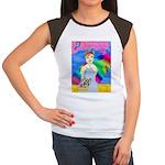 Over the Rainbow Women's Cap Sleeve T-Shirt