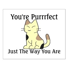 You're Purrrfect Posters