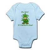 My First St Pats Day Leprechaun Infant Bodysuit