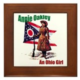 Cute Annie Framed Tile
