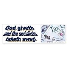 God giveth (sticker)