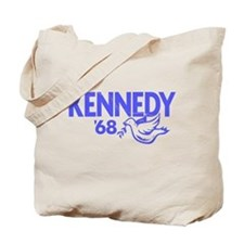 John Kennedy 1968 Dove Tote Bag