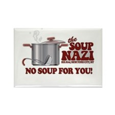 Soup Nazi No Soup Rectangle Magnet (100 pack)