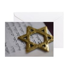 Jewish Star Greeting Cards (Pk of 10)