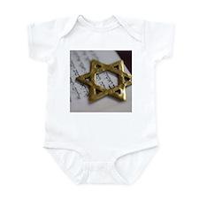 Jewish Star Infant Bodysuit