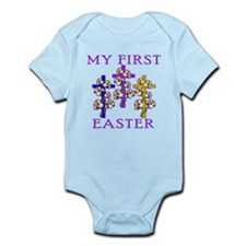 Christian 1st Easter Infant Bodysuit