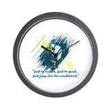 Jack Be Nimble Wall Clock