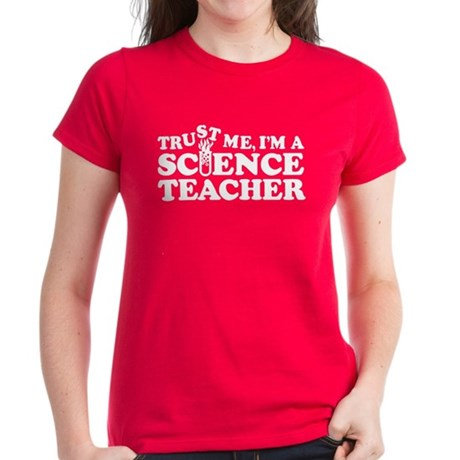 Science Teacher Women's Dark T-Shirt
