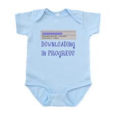 Diaper Download in Progress Infant Bodysuit