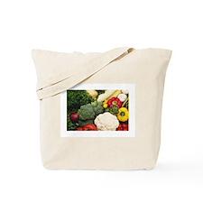 Cute Vegetables Tote Bag