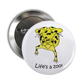 "Panamanian Golden Frog 2.25"" Button"