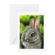 Hare 13 Greeting Card