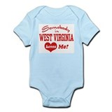 West Virginia Infant Bodysuit