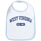 West Virginia Est 1863 Bib