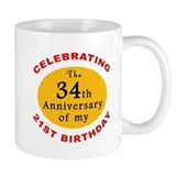 Celebrating 55th Birthday Mug