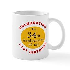 Celebrating 55th Birthday Mug
