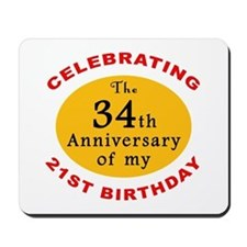 Celebrating 55th Birthday Mousepad