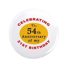 "Celebrating 75th Birthday 3.5"" Button"