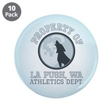 "La Push Athletics 3.5"" Button (10 pack)"