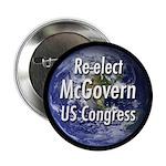 Re-elect James McGovern campaign button