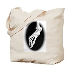 Funny Foot bone Tote Bag