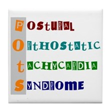 POTS Syndrome Tile Coaster