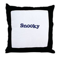 Snooky Throw Pillow