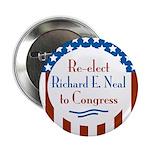 Richard E. Neal Campaign Button