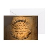 Jewish Tile Greeting Card