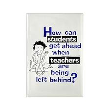 How Can Teachers... Rectangle Magnet
