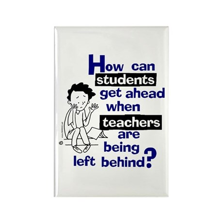How Can Teachers... Rectangle Magnet