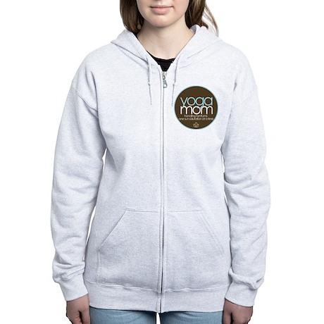 yoga mom t-shirt Women's Zip Hoodie