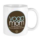 yoga mom t-shirt Mug