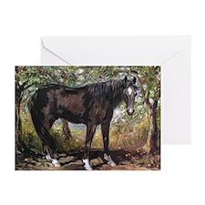 Buckskin Quarter Horse Greeting Cards (Pk of 10)