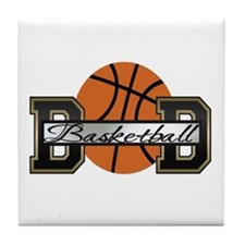 Basketball Dad Tile Coaster