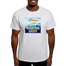 Vintage Squid Label 1 T-Shirt