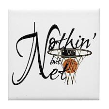 Nothin' But Net Tile Coaster