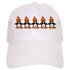 Winter Penguin 1 Leukemia Baseball Cap
