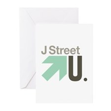 J Street U Greeting Cards (Pk of 10)