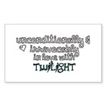 In Love with Twilight Rectangle Sticker