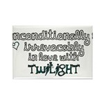 In Love with Twilight Rectangle Magnet