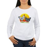 Plymouth Rock Sunrise Women's Long Sleeve T-Shirt
