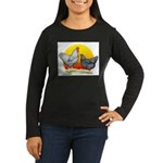 Plymouth Rock Sunrise Women's Long Sleeve Dark T-S