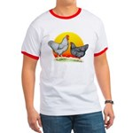 Plymouth Rock Sunrise Ringer T