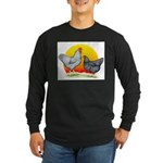Plymouth Rock Sunrise Long Sleeve Dark T-Shirt