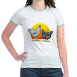 Plymouth Rock Sunrise Jr. Ringer T-Shirt