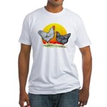Plymouth Rock Sunrise Fitted T-Shirt
