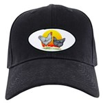 Plymouth Rock Sunrise Black Cap
