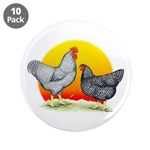 "Plymouth Rock Sunrise 3.5"" Button (10 pack)"