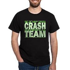 C & R Team (green) Black T-Shirt